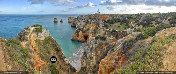 J7371004. Ponta da Piedade and Lighthouse. Lagos, Algarve (Portugal)