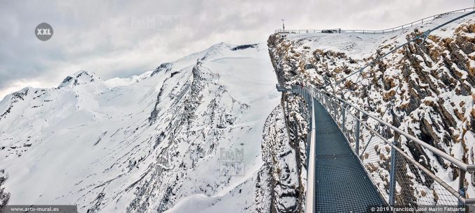 JF753255. Grindelwald-First mountain panorama. Switzerland