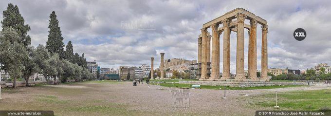 J8074803. Temple of Olympian Zeus, Athens (Greece)