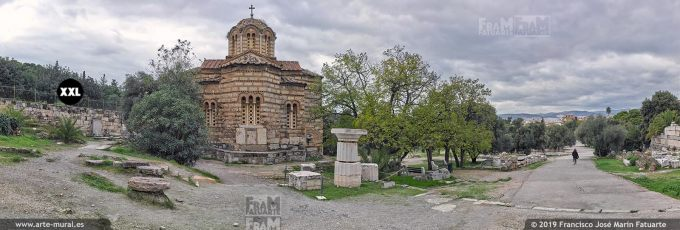 J8131304. Church of the Holy Apostles in Ancient Agora, Athens (Greece)