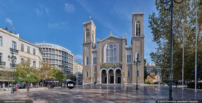 JF302404. Metropolitan Cathedral of the Annunciation, Athens (Greece)
