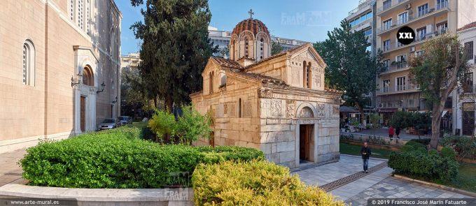 JF303603. Little Metropolis Byzantine church, Athens (Greece)