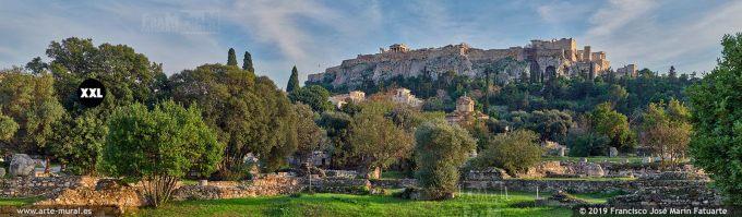 JF310204. Ancient Agora and Acropolis, Athens (Greece)