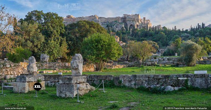 JF316304. Ancient Agora, Athens (Greece)