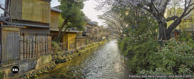 F2401353. Shirakawa Canal. Kyoto (Japan)