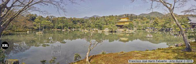F2437654. Kyoto Kinkaju-ji Temple of the Golden Pavillion