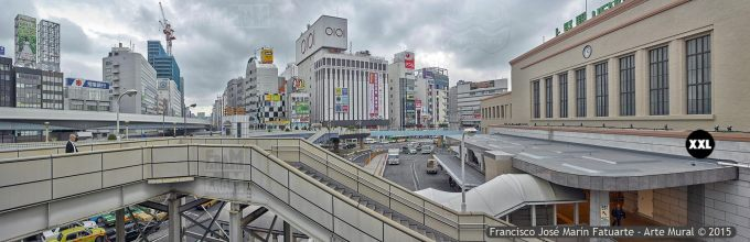 F2569053. View from Ueno Station. Tokyo (Japón)