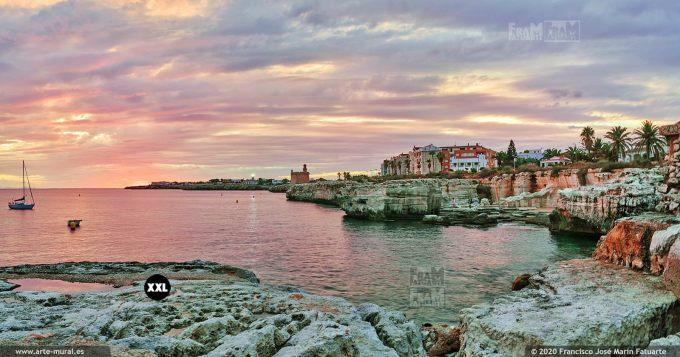 KQ042606 Sunset near Sant Nicolau Castle - Ciudadela, Menorca (Spain)
