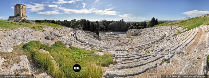 H5861606. Greek Theatre of Syracuse. Sicily (Italy)