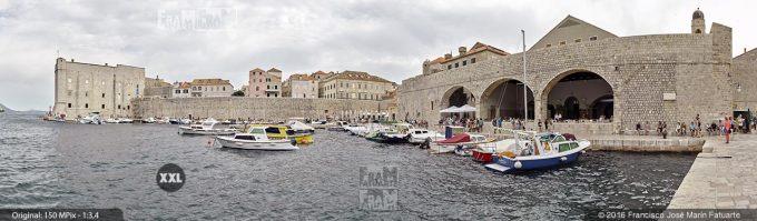 G3709306. Dubrovnik City Harbour (Croacia)