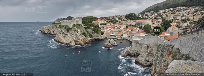 G3863303. Walls of Dubrovnik and St. Lawrence Fortress (Croacia)