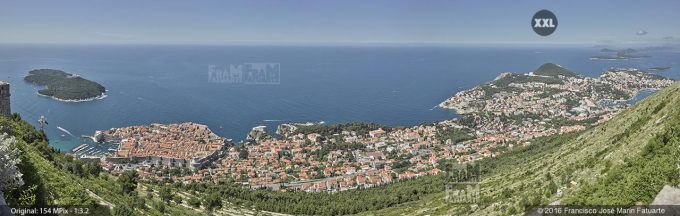 G3909105. Aerial view of Dubrovnik. Croatia