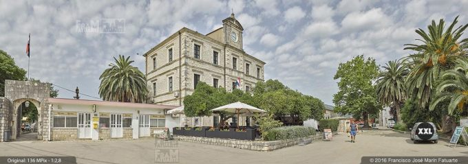 G3779603. Post office building in Ston (Croatia)