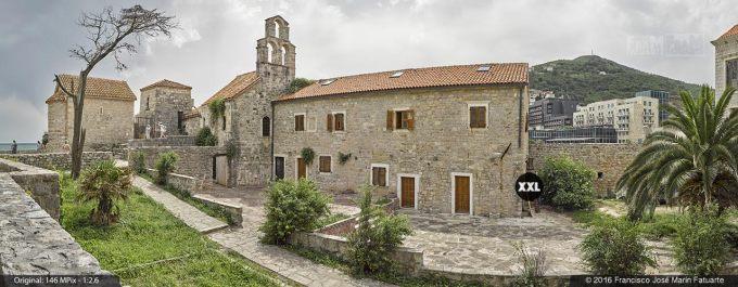 G3763604. Church of St. Mary in Punta. Budva (Montenegro)