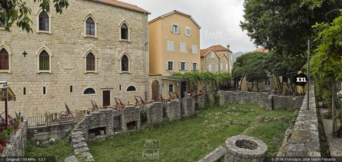 G3764303. The ruins of the Roman baths. Budva (Montenegro)