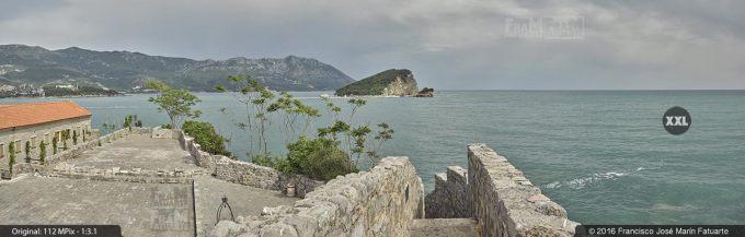 G3773103. View from top of Budva Citadela (Montenegro)