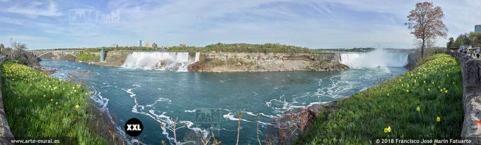 I6557056. Niagara Falls, from Canada border.