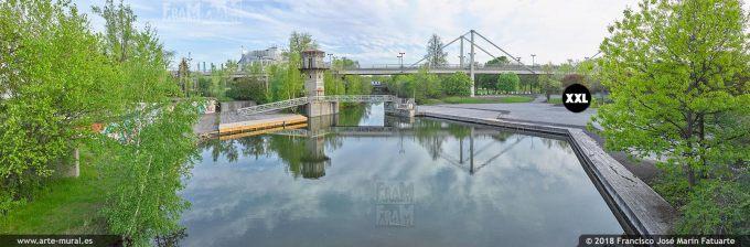 I6659903. Notre Dame Island Montréal. Location near Casino. Canada