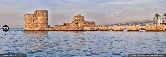 IF167303. Crusaders Sea Castle. Sidon, Lebanon