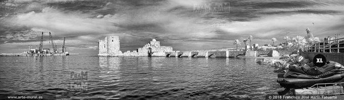 ISO017204. Crusaders Sea Castle. Sidon, Lebanon